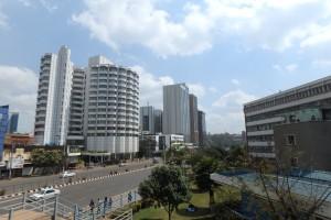 ケニアの首都ナイロビ市